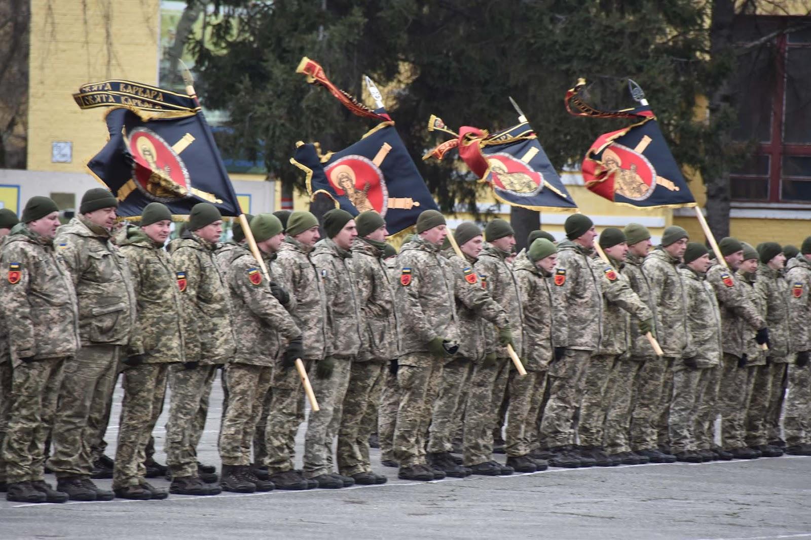 Почесні прапори та мощі Варвари отримала ракетна бригада