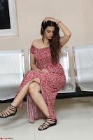 Diksha Panth in a Deep neck Short dress at Maya Mall pre release function ~ Celebrities Exclusive Galleries 051.JPG