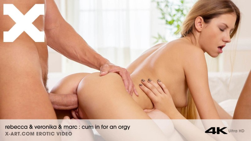 X-Art - Cum In For An Orgy