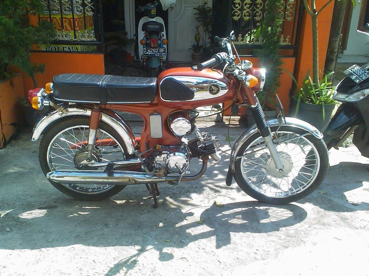 HOBIY Kumpulan Sepeda Motor Honda Era 60 dan 70an