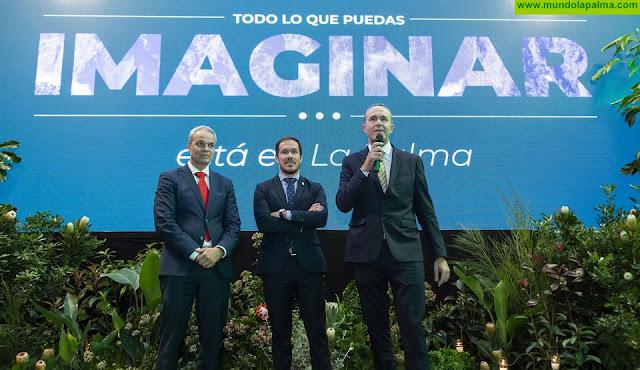 El Cabildo de La Palma impulsa la colaboración y el trabajo en red entre empresarios del sector turístico en el marco de Fitur