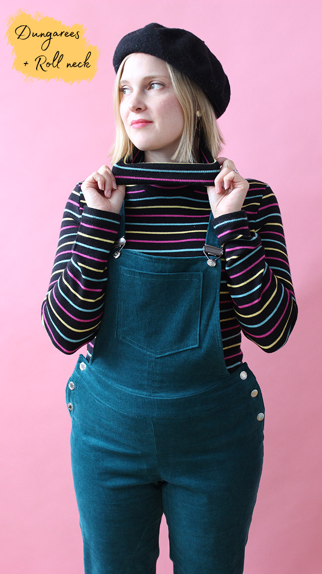 Five ways to wear dungarees - by Tilly and the Buttons