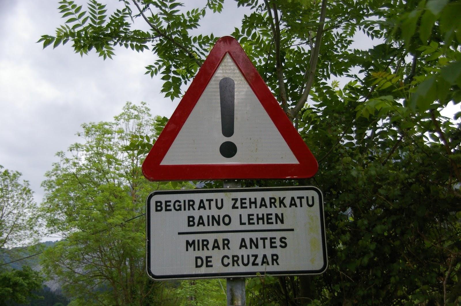 Kraj Basków euskera