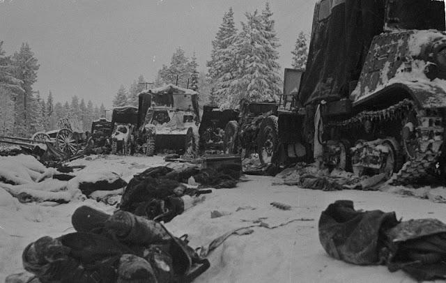 20 December 1939  worldwartwo.filminspector.com Soviet relief column Suomossalmi