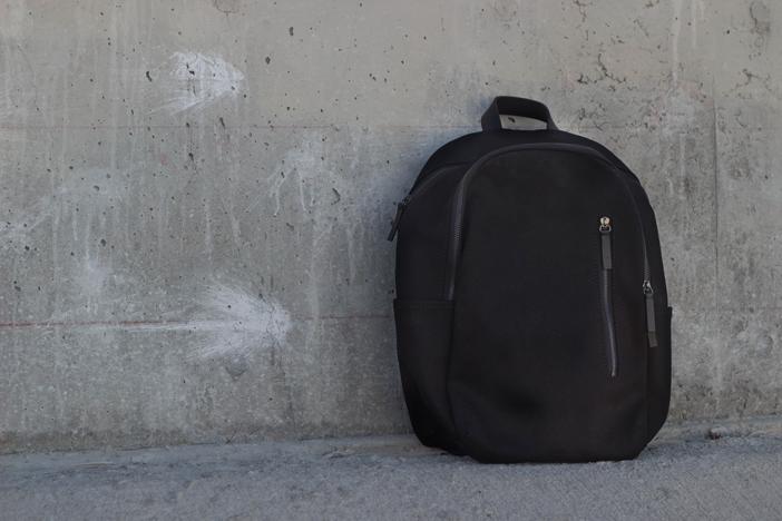 Black Everlane Modern Commuter Backpack