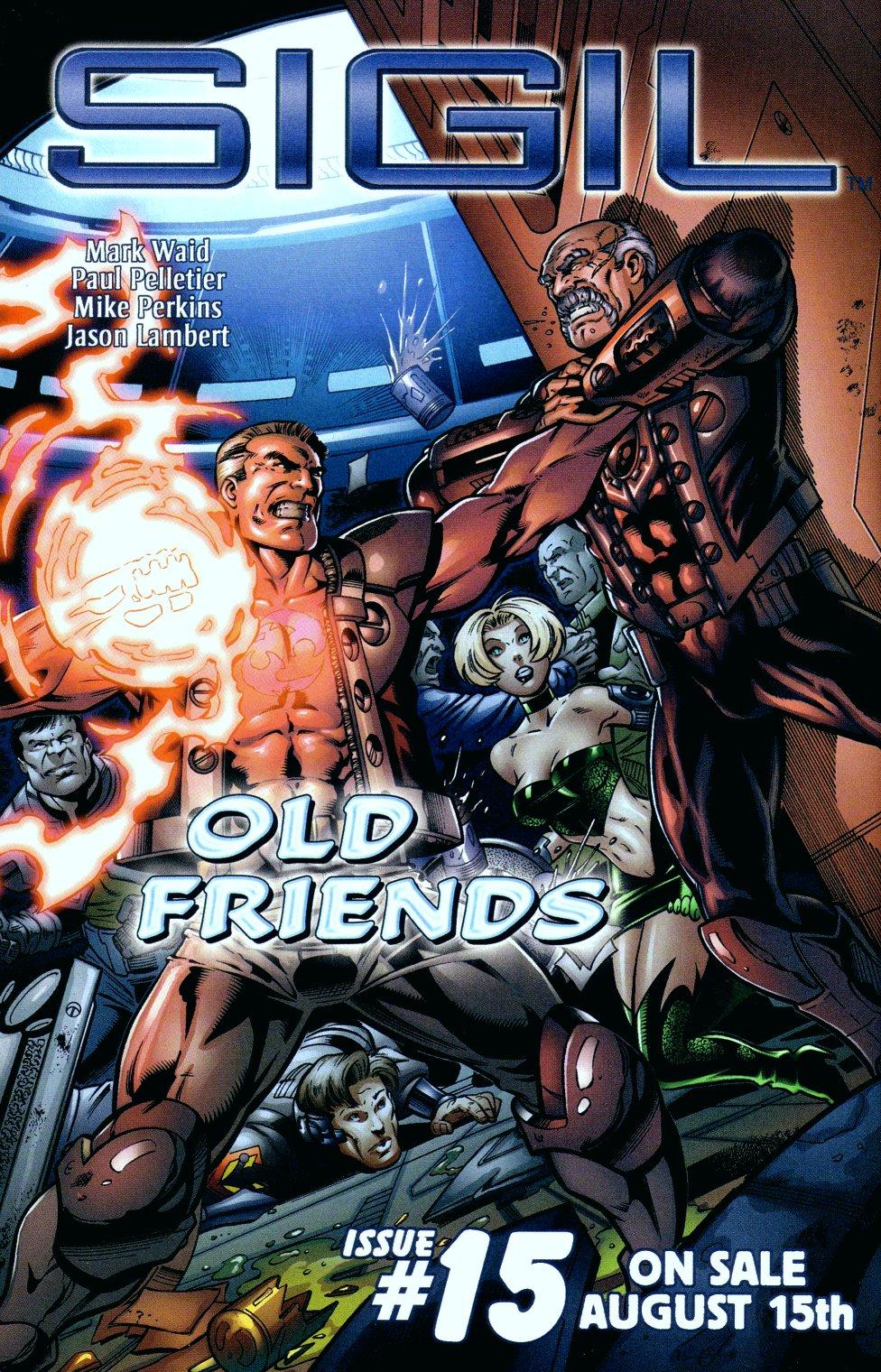 Read online Sigil (2000) comic -  Issue #14 - 25