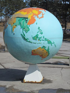 Toronto Zoo Globe.