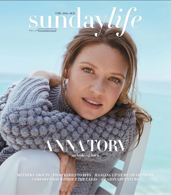 Actress, @ Anna Torv - Sunday Life Magazine, June 2016