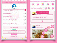 Download BBM Mod Pink V3.2.0.6 Apk Theme OWL
