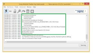 Cara Flash Sony Xperia D2302 M2 dual Sukses 100%