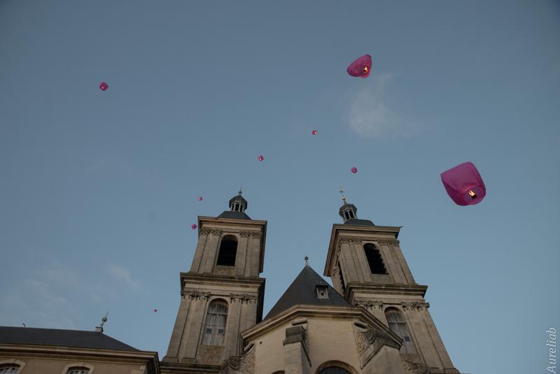lanternes mariage abbaye