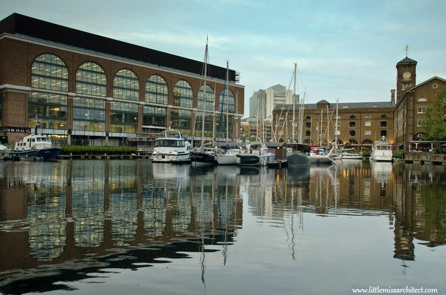 st catherine docks, doki św katarzyny londyn