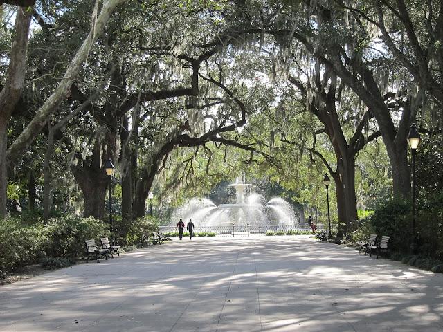 Early Morning Run - Forsyth Park Savannah