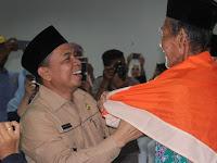 19 Agustus Calon Haji Kabupaten Keerom Berangkat ke Embarkasi Makasar