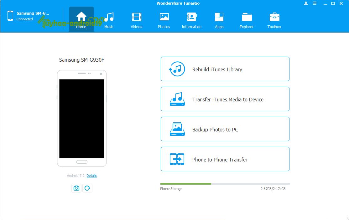 Wondershare TunesGo for iOS & Android kuyhaa