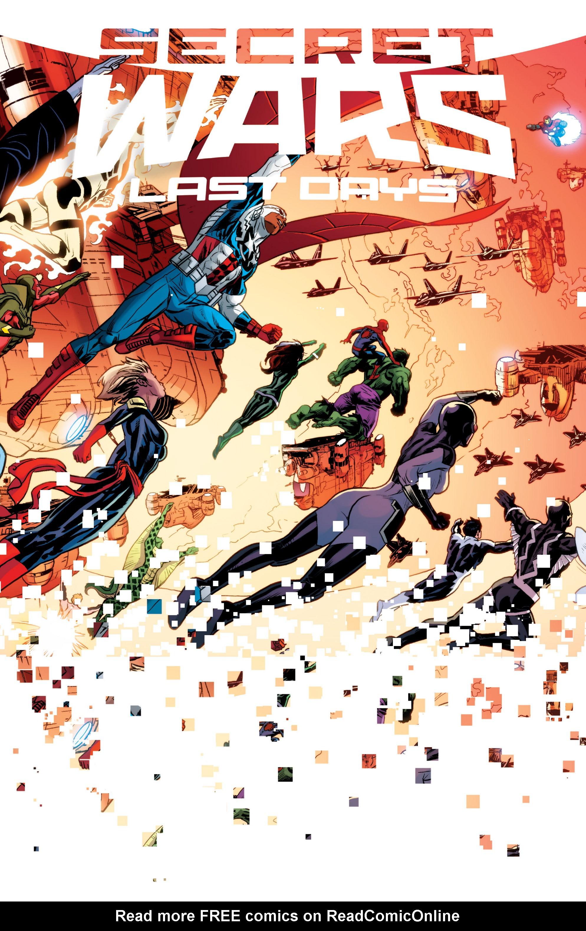 Read online Secret Wars: Last Days of the Marvel Universe comic -  Issue # TPB (Part 1) - 2