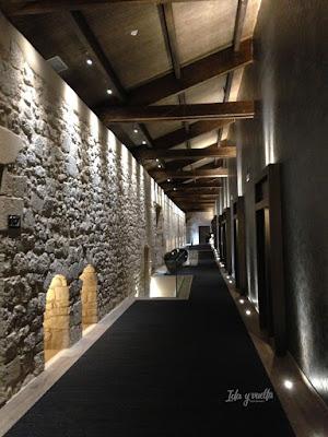 Corredor del Castilla Termal Monasterio de Valbuena