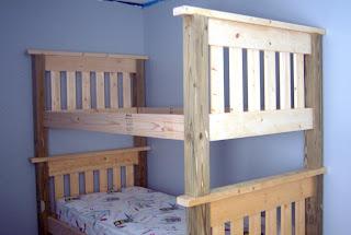 David Easy Bunk Bed Plans Stackable Wood Us Uk Ca