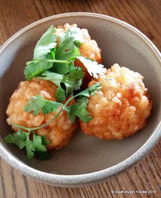 Wu Chow shrimp fritter
