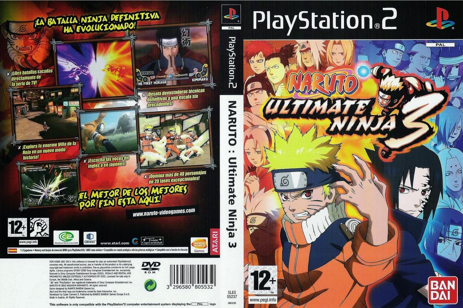 Naruto ultimate ninja 3 for playstation 2
