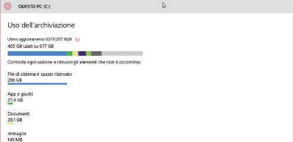 cambio Posizioni salvataggio file windows 10
