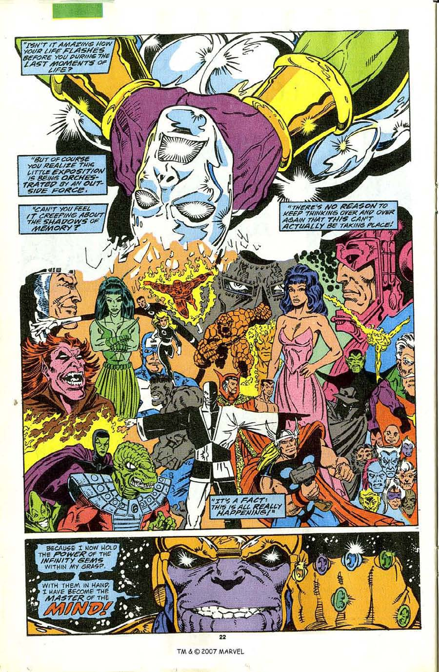 Read online Silver Surfer (1987) comic -  Issue #44 - 24