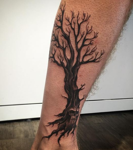 50 Meaningful Tree Tattoos Designs for Nature Lovers () of 40 by Patrick