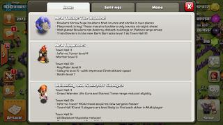 Update Terbaru Clash of Clans