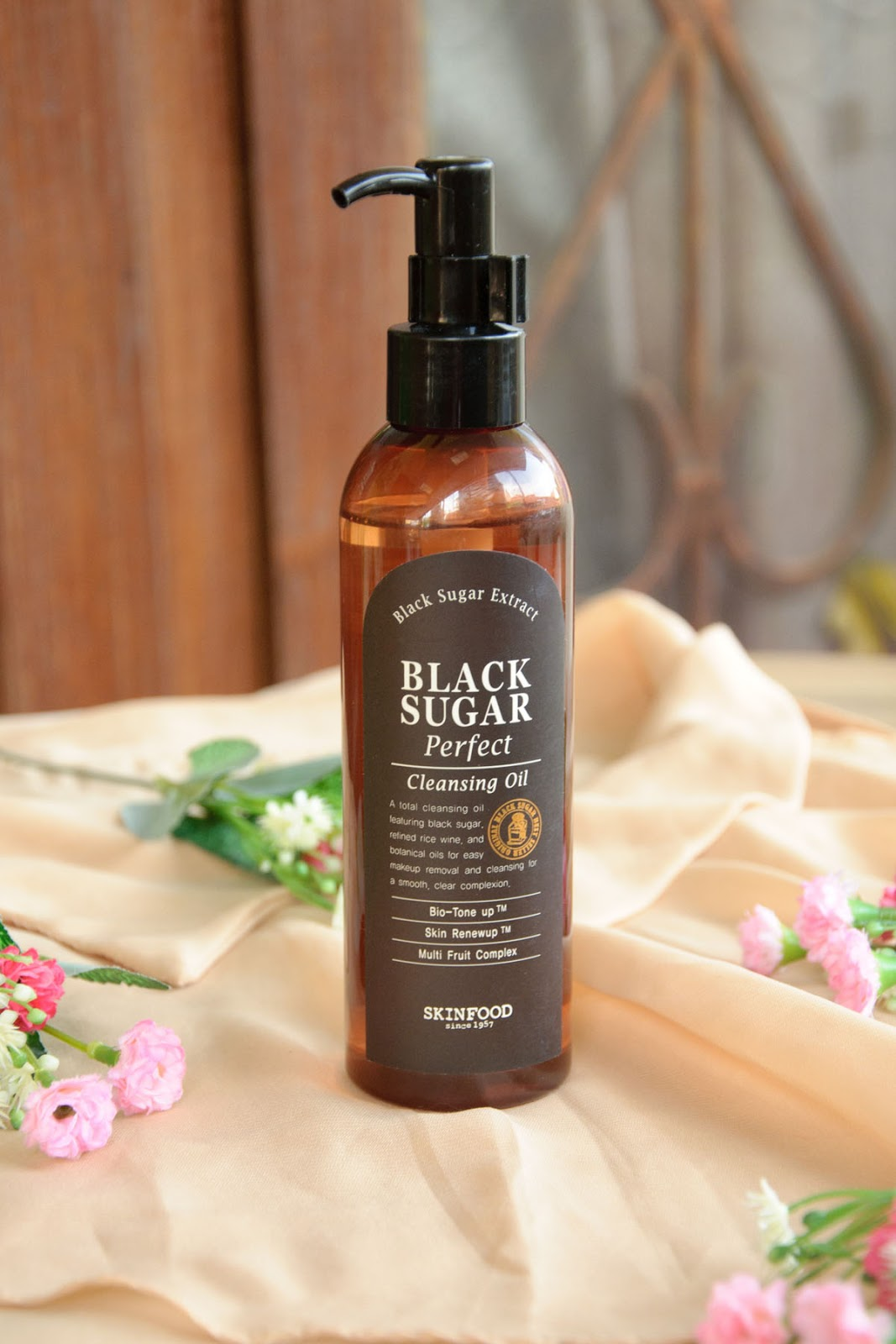 Black Sugar Perfect Cleansing Oil by Skinfood #6