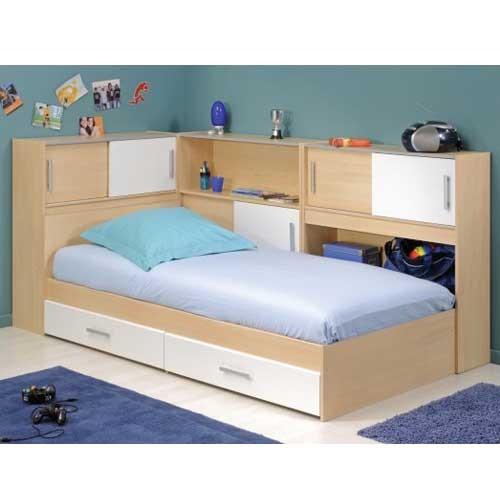 model tempat tidur dengan laci 1