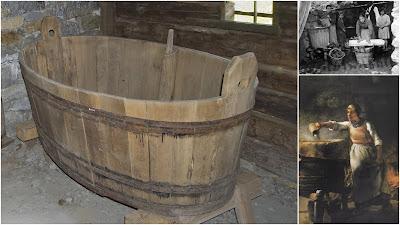 mastella di legno