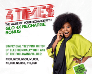 Glo Introduces 4X  for Subscribers