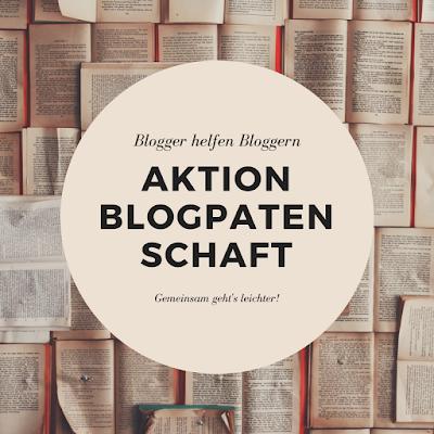 """Banner zur Aktion mit dem Schriftzug """"Aktion Blogpatenschaft"""""""
