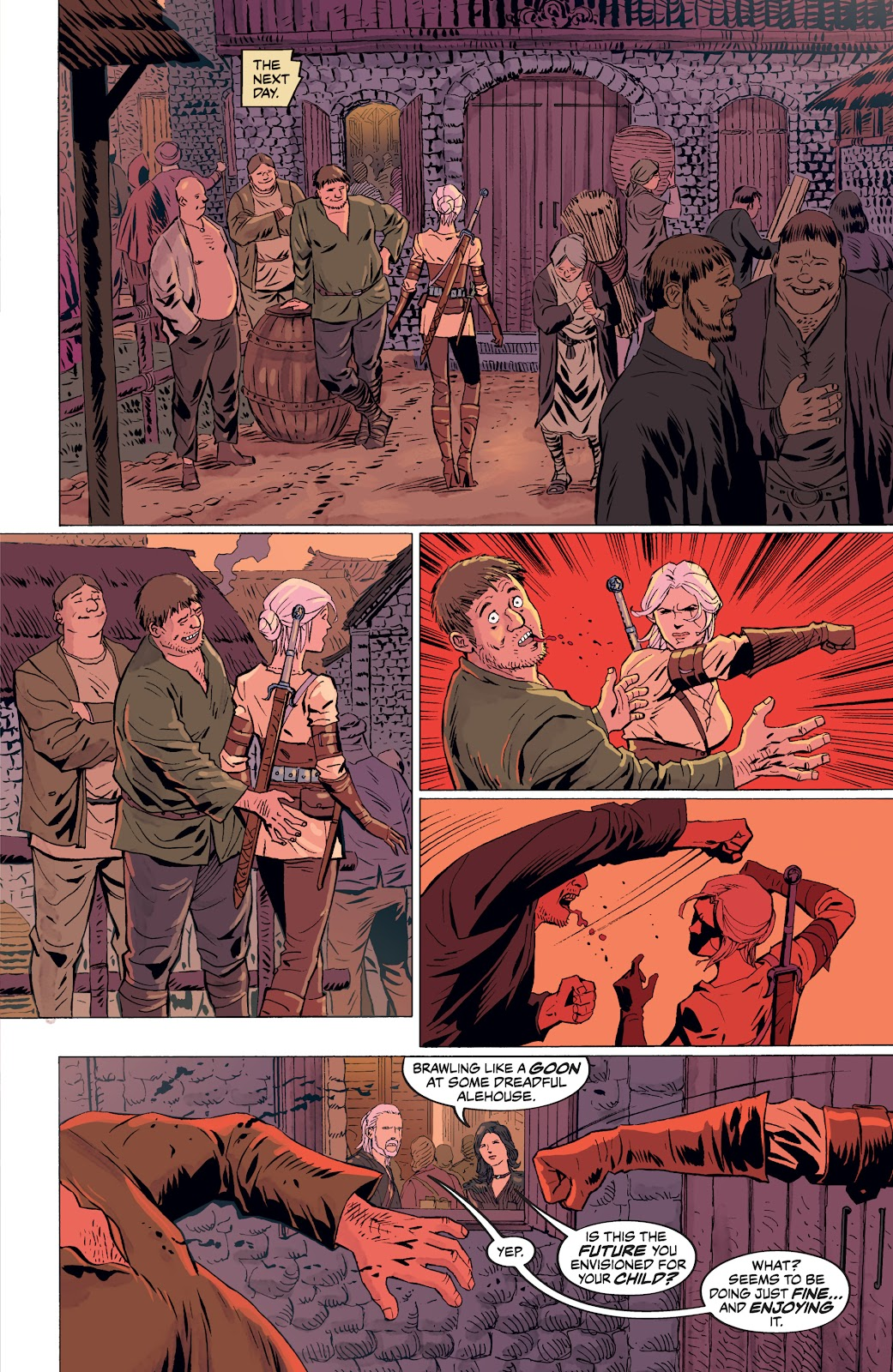 Read online The Witcher Omnibus comic -  Issue # TPB (Part 4) - 55