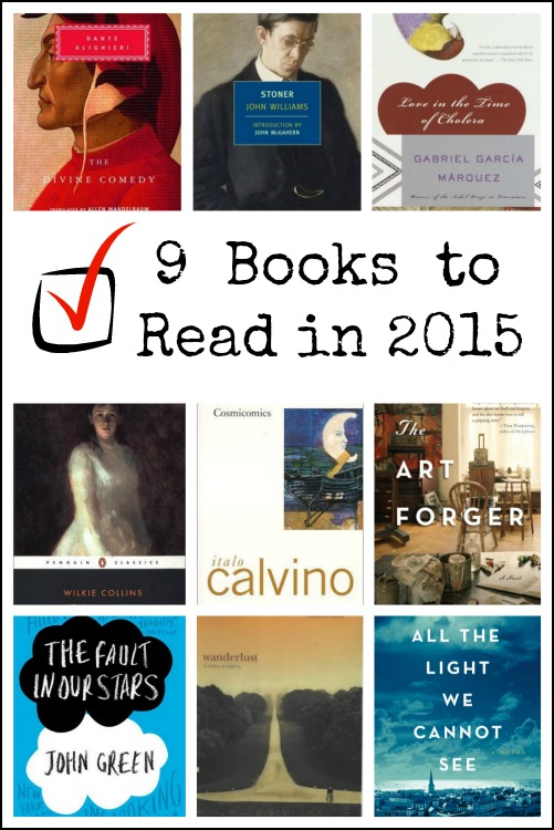 9 Books to Finally Read in 2015
