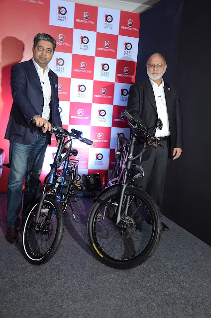 Hero Electric, the country's largest electric two-wheeler manufacturer, today unveiled three of its global products in India, ahead of Auto Expo 2018. The company plans to launch these products throughout 2018, in a phased manner.