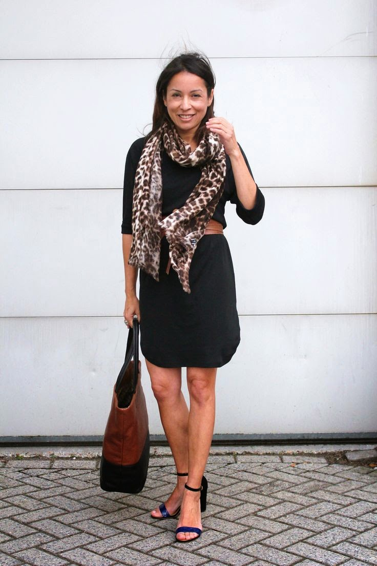 Scarf and Warm Skirt