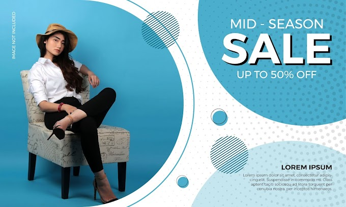 Fashion Modern Sale Banner vector set free vector download by vectorkh