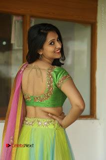 Actress Nikitha Bisht Stills in Lehenga Choli at Pochampally Ikat Art Mela Launch  0034.JPG
