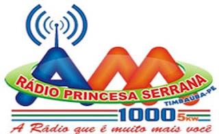 Rádio Princesa Serrana AM - Timbaúba/PE