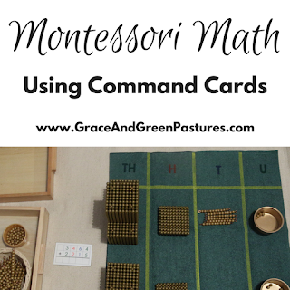 Using Math Command Cards