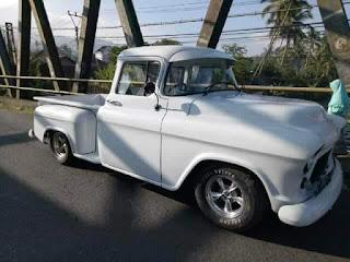 Truk Antik Amerika Dijual : Chevrolet Apache 1956 Full Paper