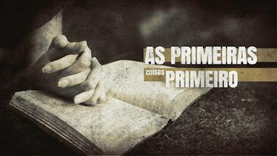 A prioridade de Deus - O segredo da vida bem-sucedida