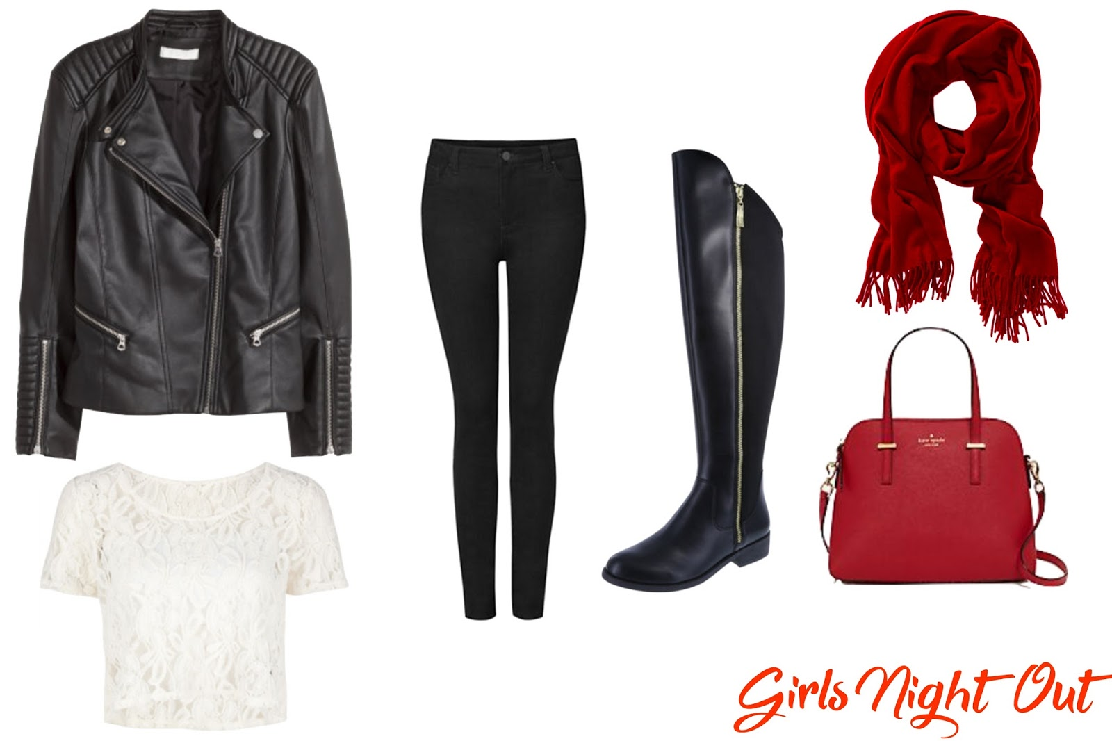 Valentine's Day Girls Night Out Outfit - Le Northern Belle