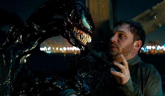 Eddie Brock with Symbiote Venom