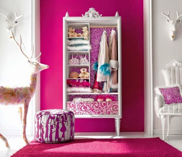 painting designs for a teenage girl's room