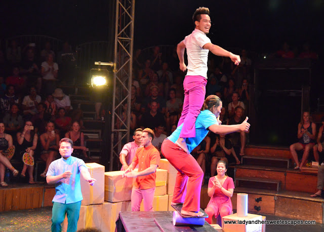 Sokha show at the Phare Circus