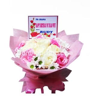 buket-mawar-pink-gresik
