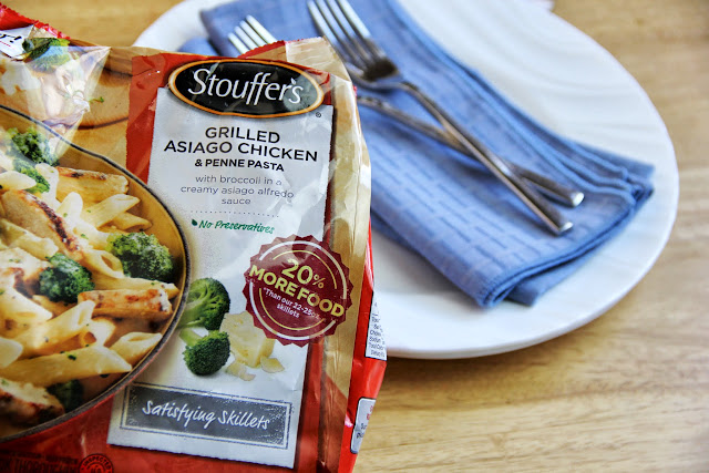 Stouffer's skillet dinner has dinner covered, you supply the conversation - #Dinner4Two #shop