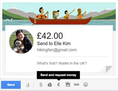 ஜிமெயில் ஊடாக பணம் அனுப்பும் வசதி அறிமுகம்  , gmail-money-transfer
